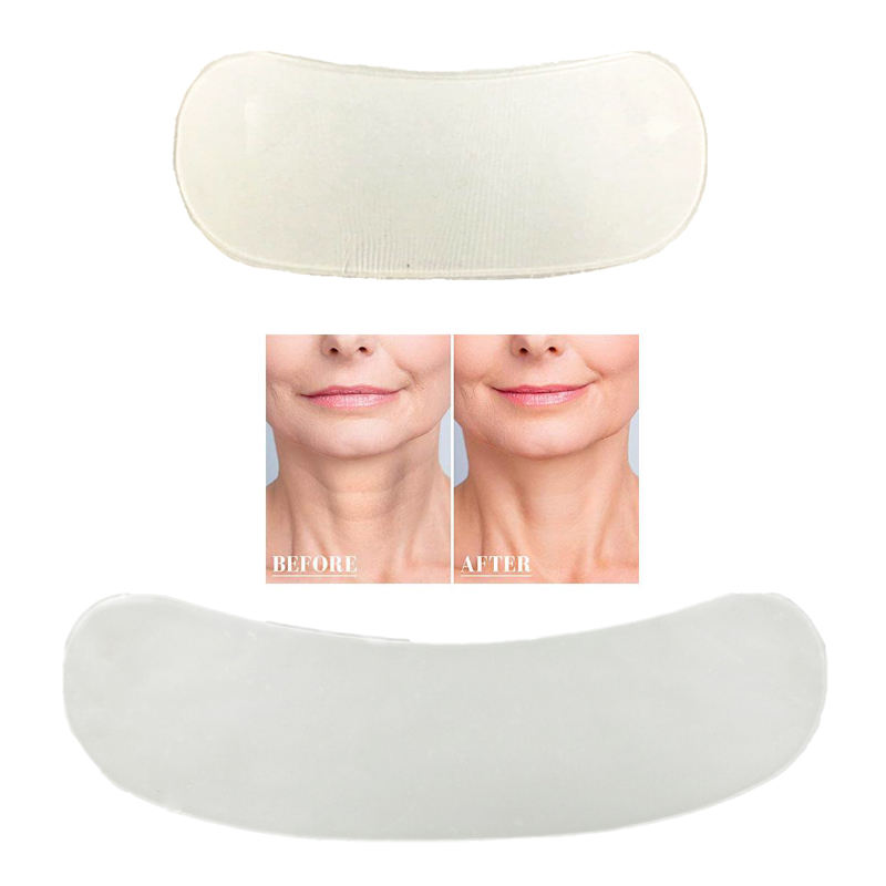 Reusable Ultra Thin Transparent Anti Wrinkle Silicone Neck Pad