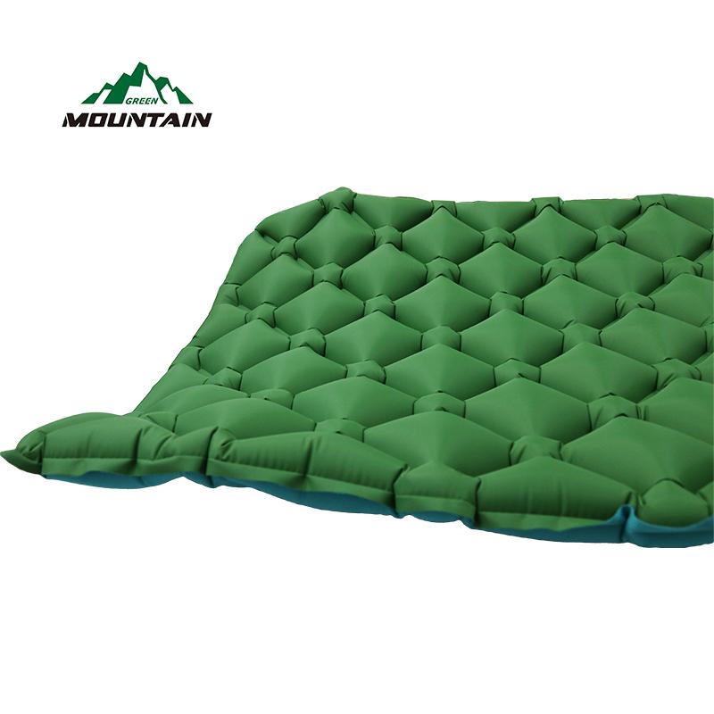 Лидер продаж Спорт на открытом воздухе ТПУ материал надувные подушки Коврики Air кровать коврик с завышенной Сумка для кемпинга