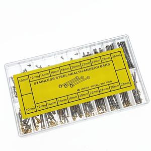 watch straps Tube Friction Pin Clasps Straps Bracelets Rivet Ends 10mm-28mm