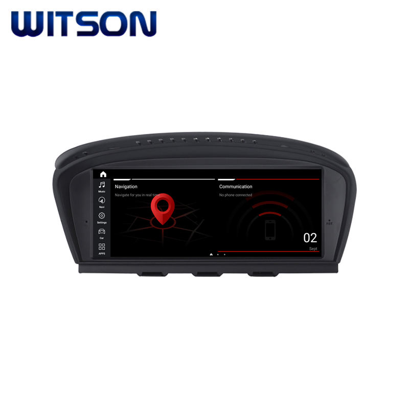 WITSON ANDROID 10 BMW Tela GRANDE <span class=keywords><strong>Carro</strong></span> DVD Multimídia Para BMW Série 3 E90 E91 E92 5 Série E60 E61 e63 E64 CIC 64 4G RAM GB ROM