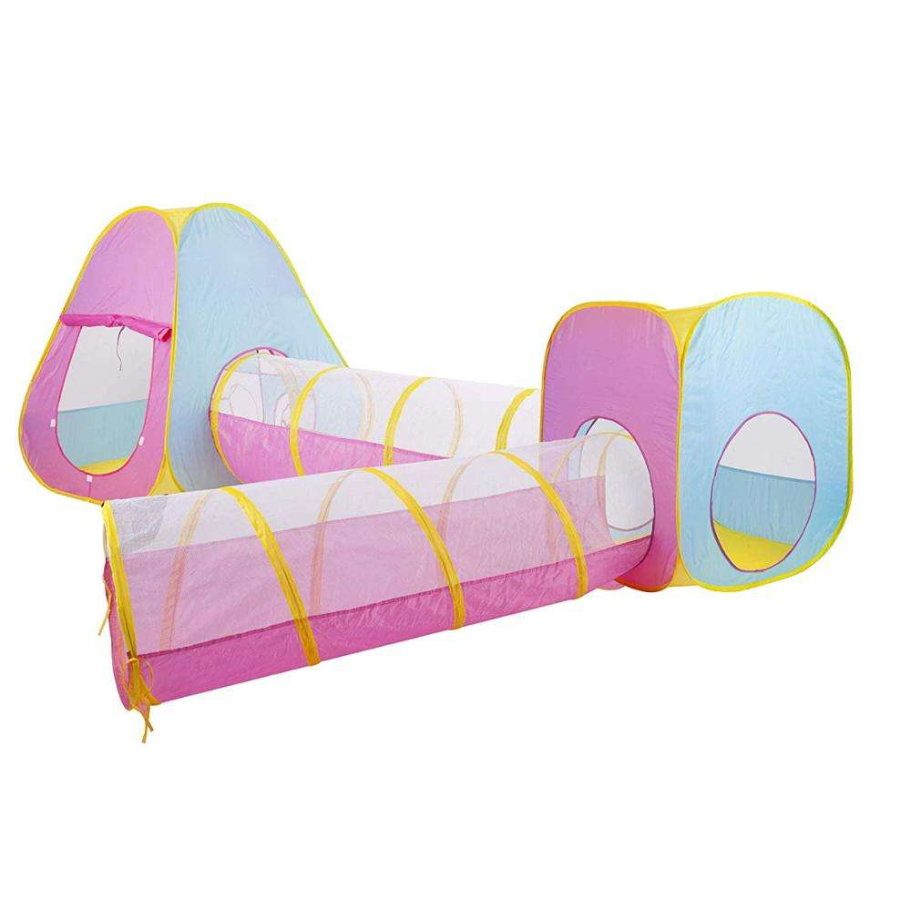 4 in 1 Pop Up Kids <span class=keywords><strong>Kinderen</strong></span> <span class=keywords><strong>Tent</strong></span> Tunnel Set Combo Play Ground Spel <span class=keywords><strong>Huis</strong></span>