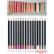 Liner Eyebrow Hot Selling Private Label Promotional 16 Colors Lip Liner Eyeliner Eyebrow Pencil 3 In 1