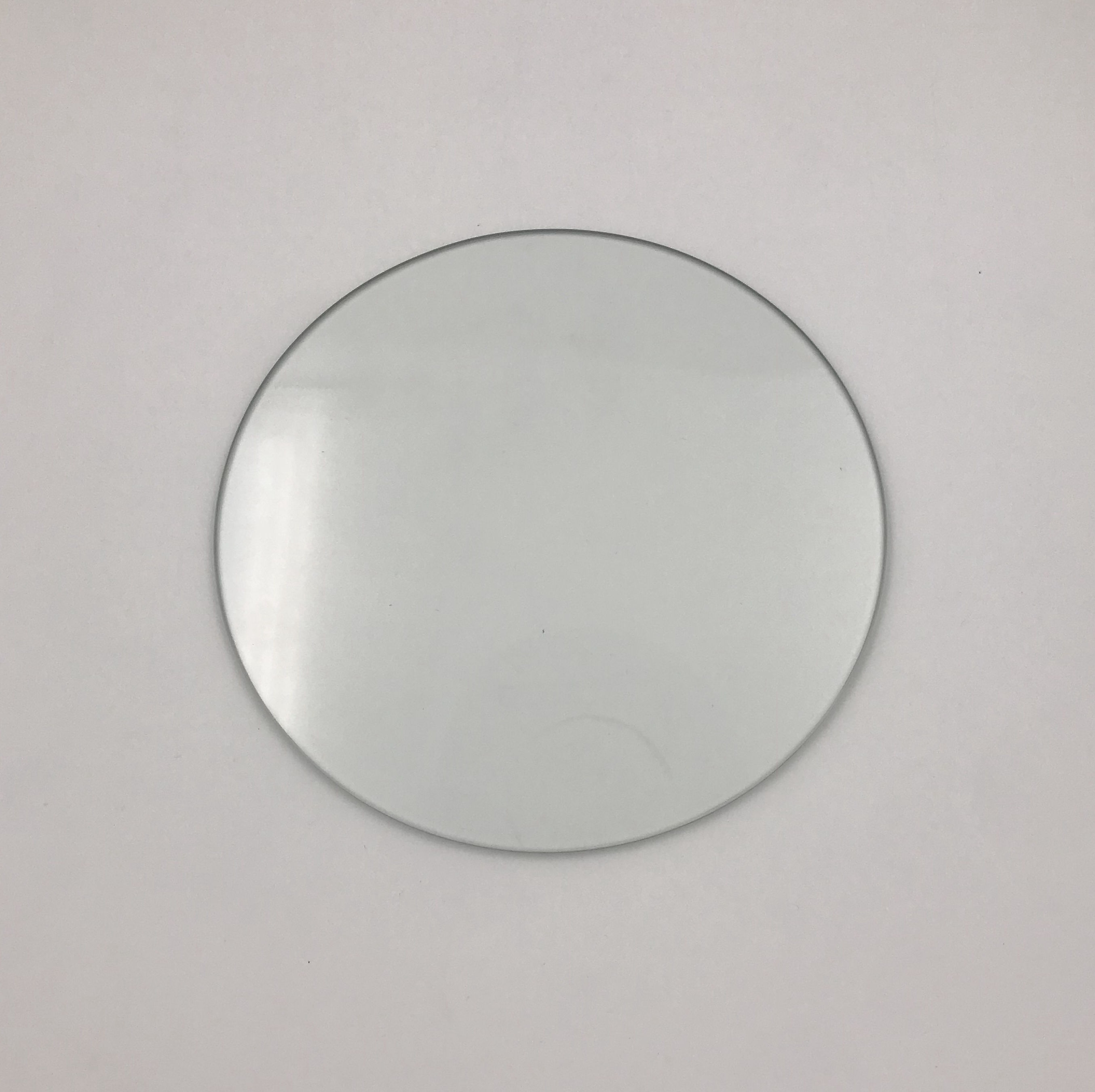 Clear tempered glass coaster, glass coaster for cup