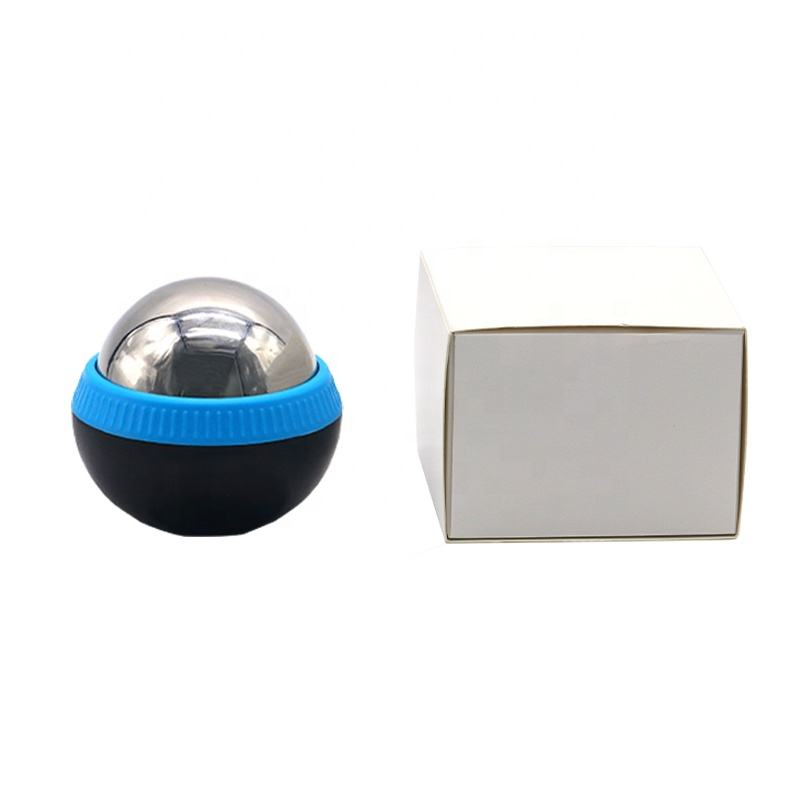 2020 new designStainless Steel OEM 40-90mm Cold Massage Roller Ball Heat and Ice Therapy Roller Massage Ball