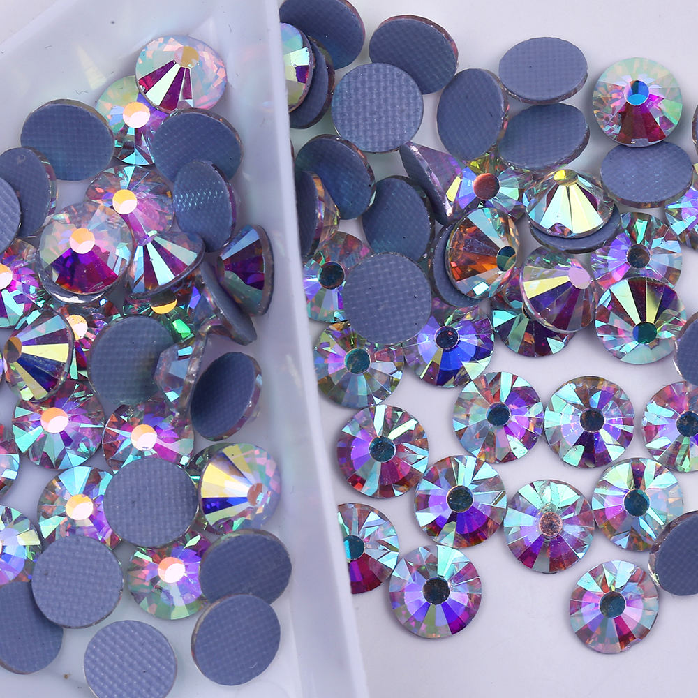 2A Normal Faceted With Hot Fix Austria Back HotFix Rhinestone For Garment Accessories DIY