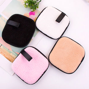 Disposable Cotton Reusable Organic Washable Bamboo Makeup Remover Pads