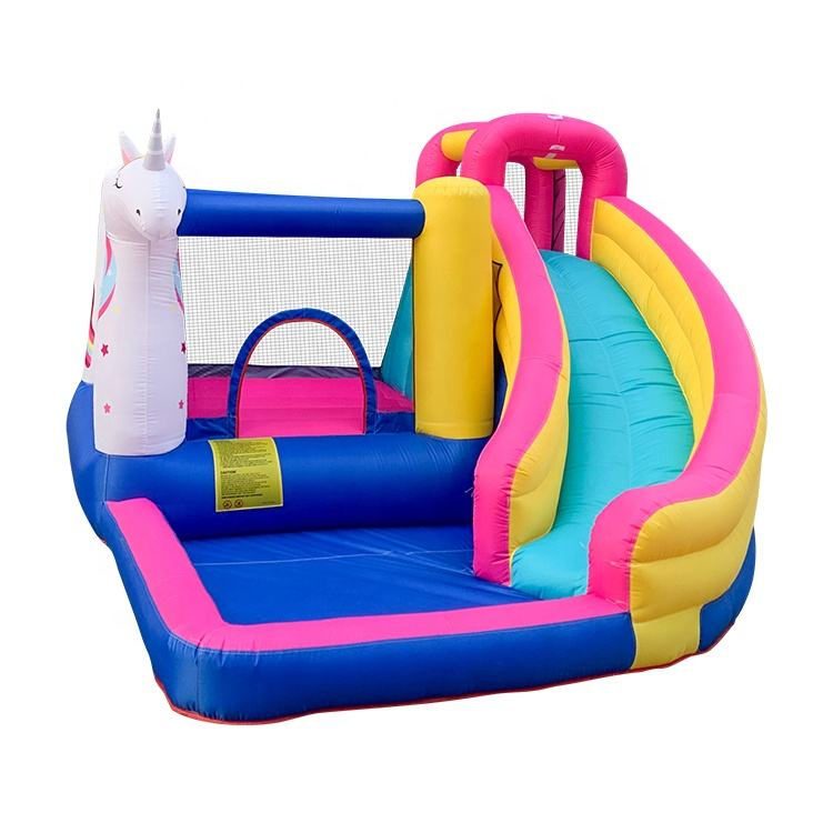2020 Unicorn New Design Inflatable Bouncer Kids Bouncy Castles For Sale