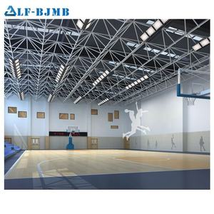 Modern Design Prefab Steel Space Frame Structure Building Roofing Sports Hall/Basketball Gym/Football Stadium