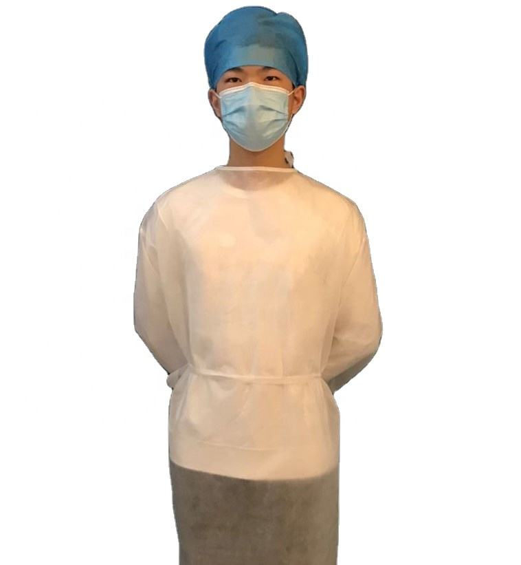 isolation gown reusable hospital aami level 2 aami 3 level 4 for medical level 1