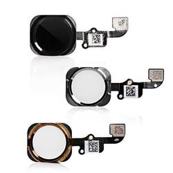 Mobile Phone Parts Home Button Touch ID With Flex Cable Assembly For iPhone 6