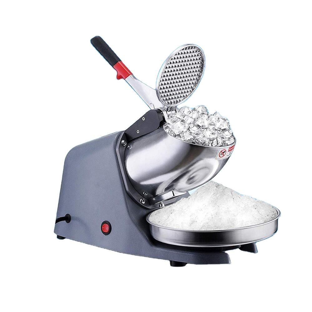 Weifeng WF-A109F Commercial Mini Ice Shaver Ice Smashing Electric Crusher Machine with CE FDA Cerficates