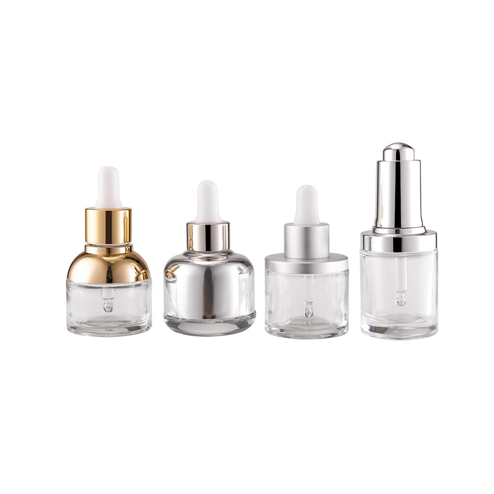 2019 New Design Custom 5ml 10ml 15ml 20ml 30ml Glass Dropper Bottle For Essential Oil With Perfume