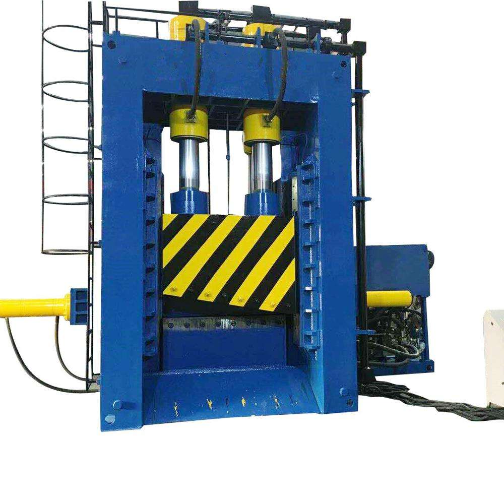 Factory price scrap metal shear baler long service life