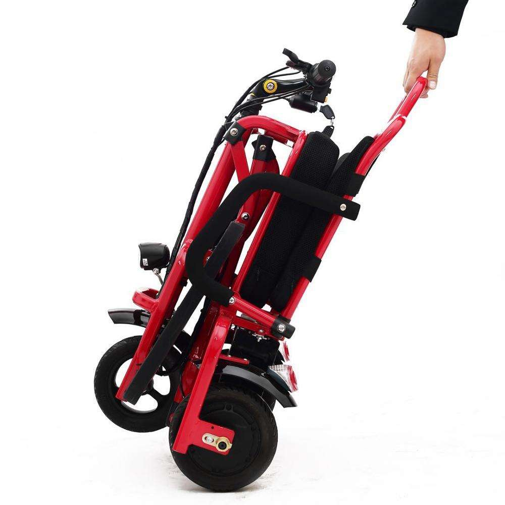 3 Wheel Folding Disabled Electric Tricycle Mobility Scooters