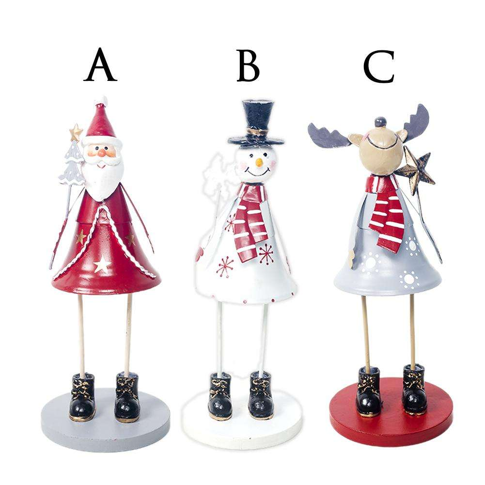 Christmas Santa Claus Ornaments for Shopping Malls Show Window Decoration Tools