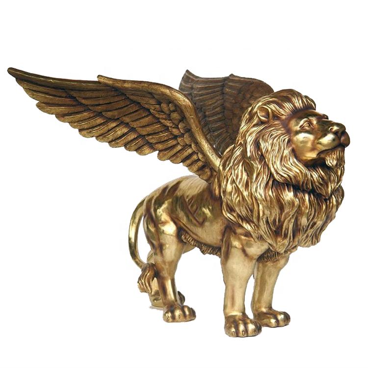 этой картинки с грифоном и львом или
