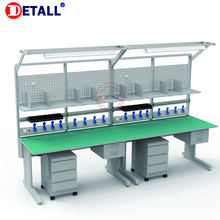 Tv assembly line workbench repair table for electronics manufacturing repair inspection
