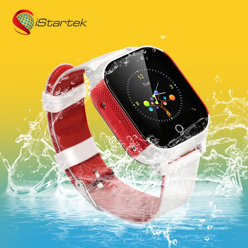 ip68 swimming enfant smartwatch family child sos panic button call smart watch kids gps tracker