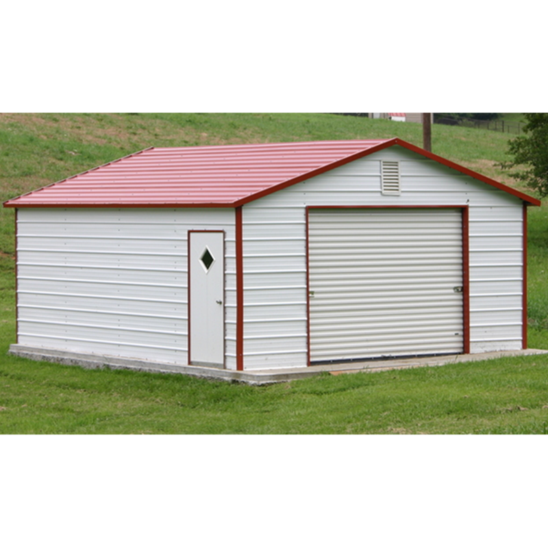Prefabricated garden building steel structure storage shed