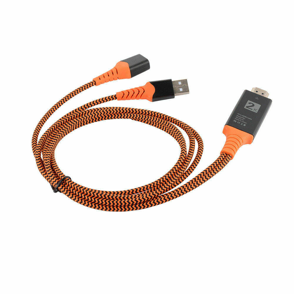 <span class=keywords><strong>USB</strong></span> Femmina A Maschio di <span class=keywords><strong>HDMI</strong></span> HDTV <span class=keywords><strong>Cavo</strong></span> Adattatore Per Il IPhone X 8 Plus. Android AC1581