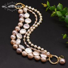 Natural Fresh Water Pearl Multilayer Bracelet For Women Party Birthday Original Design Jewelry