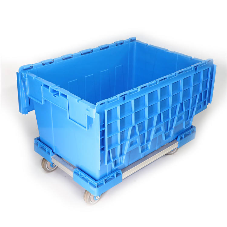 Heavy Duty Moving Equipment Dolly for crate box transport, moving container cart