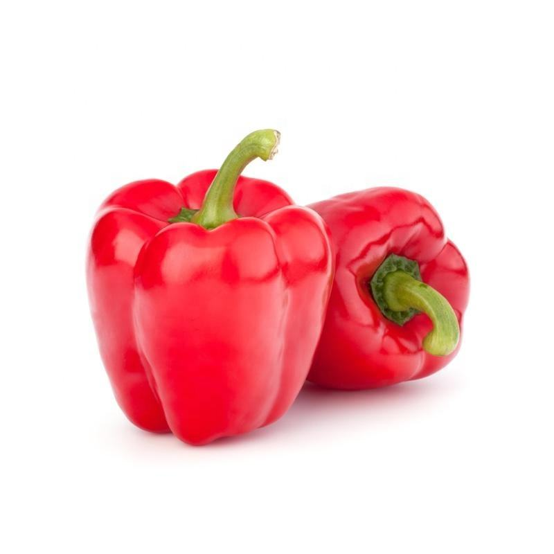 Mexico Grown Red Bell Pepper Vegetable Robinson Fresh MOQ 22-26 COUNT Quick Delivery in US