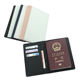 2020 new sublimation blank PU Leather Passport book Cover Case; Sublimation passport holders, sublimation passport cover