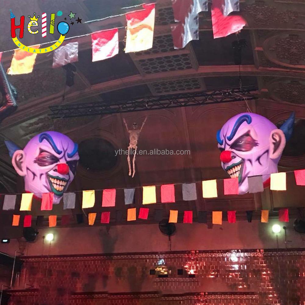Personnalisé gonflable halloween <span class=keywords><strong>clown</strong></span> maléfique