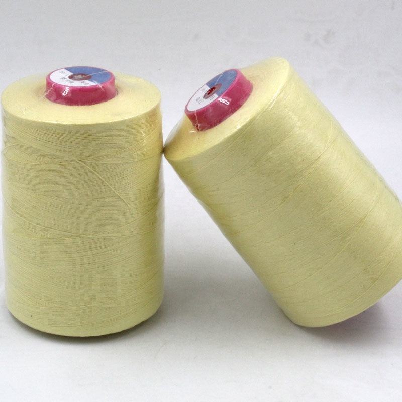 <span class=keywords><strong>Aramid</strong></span> faser flammhemmende gewinde Gelb high-speed <span class=keywords><strong>nähgarn</strong></span>