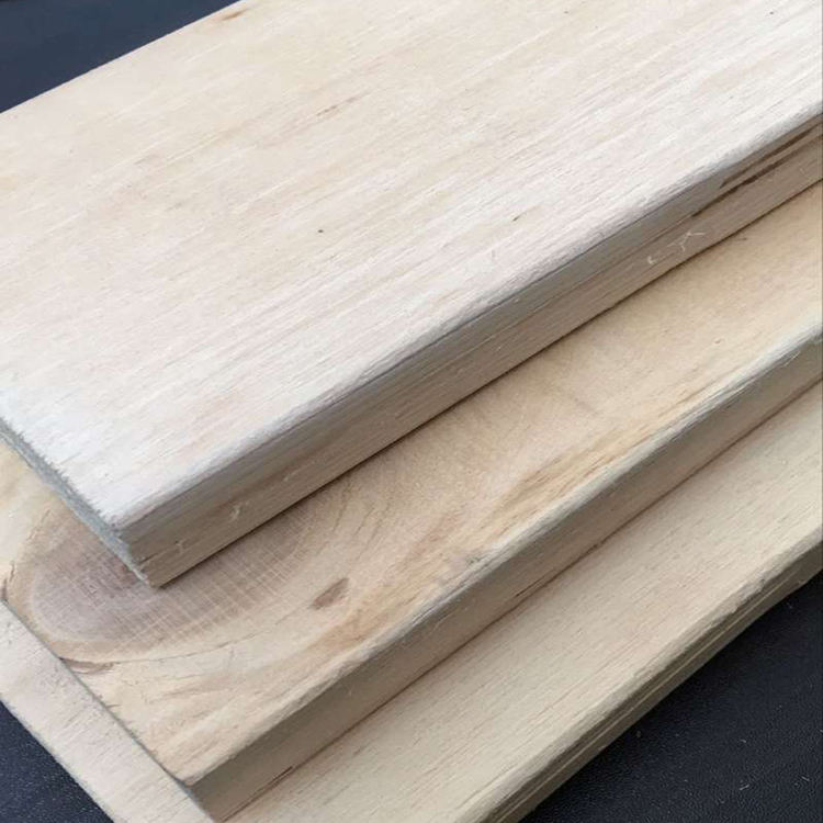 China factory poplar pine LVL laminated veneer lumber plywood board timber for bed slats door frame and drawer
