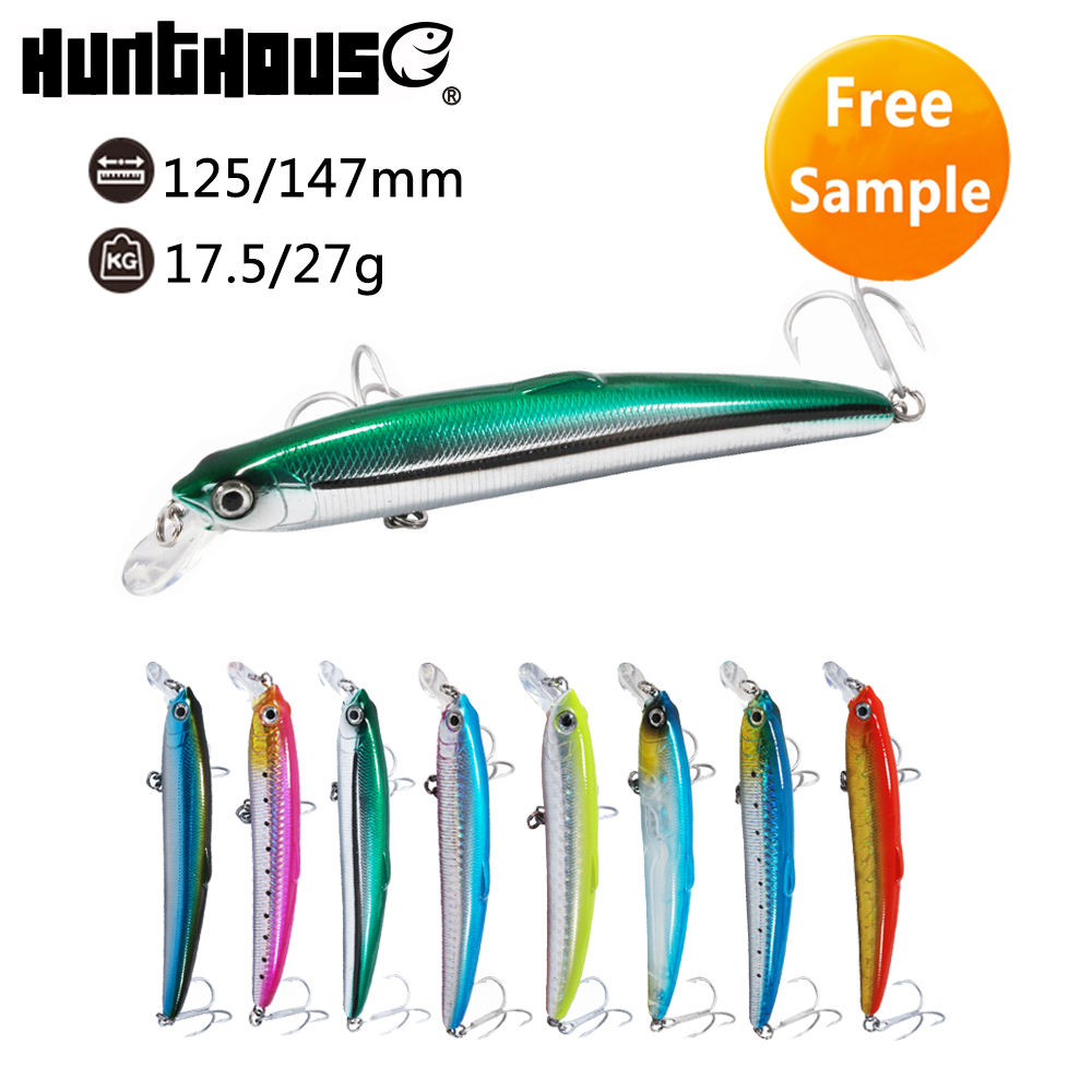 Hunthouse sea water 27g Floating fishing minnow lures