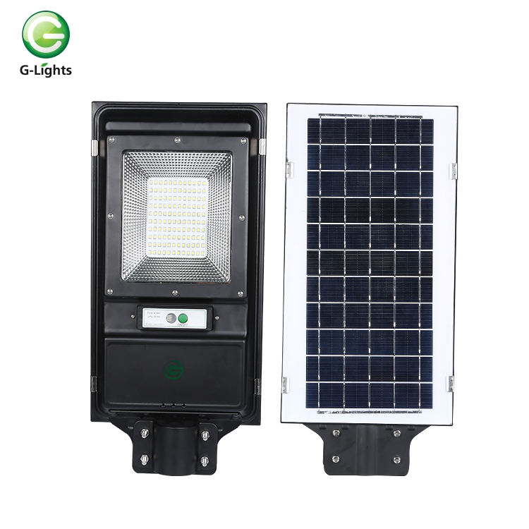 High lumens smd IP65 outdoor waterproof die cast aluminum 60w 100w solar led street light