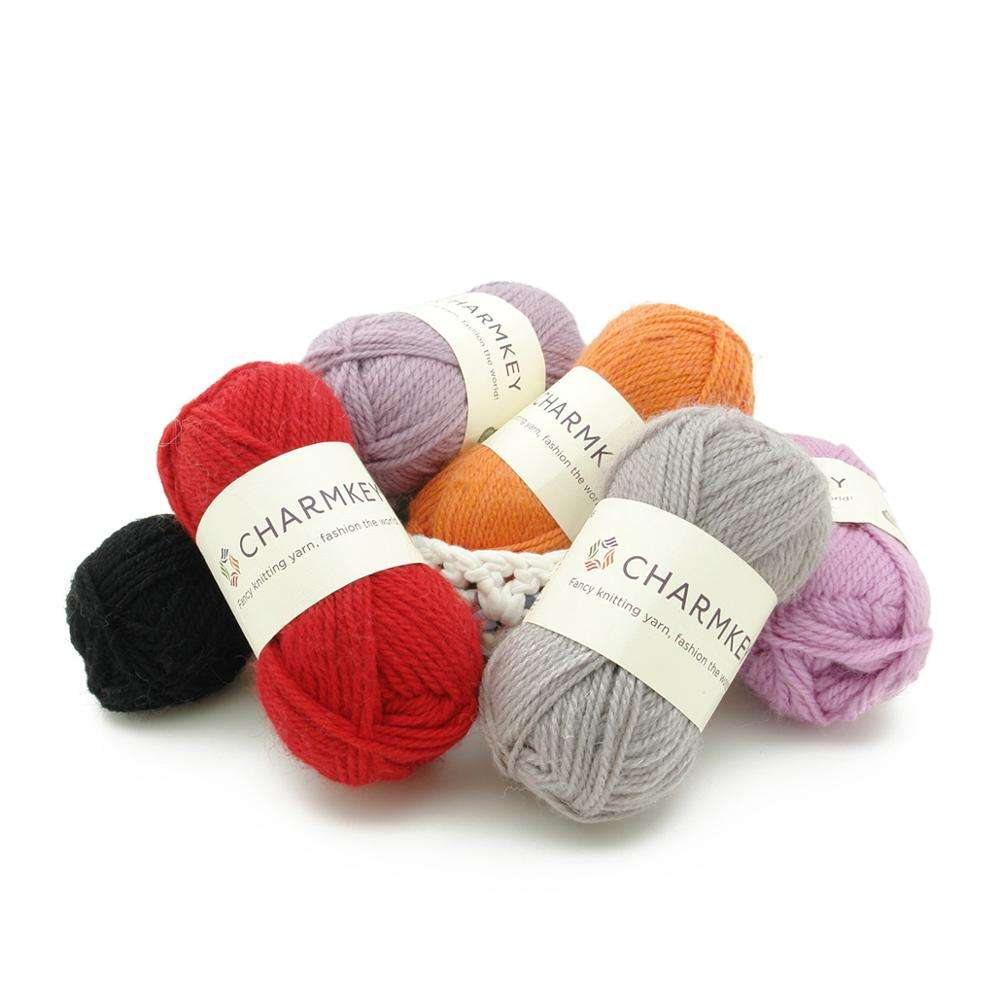 China Wholesale Charmkey Merino Wool Hand Knitting Yarn for Knitting Garment