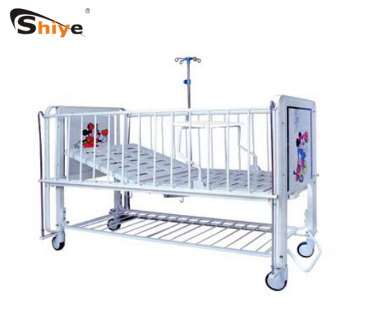 BC-536 Children medical bed one crank Manual Medical Pediatric Hill Room Hospital Bed for sale