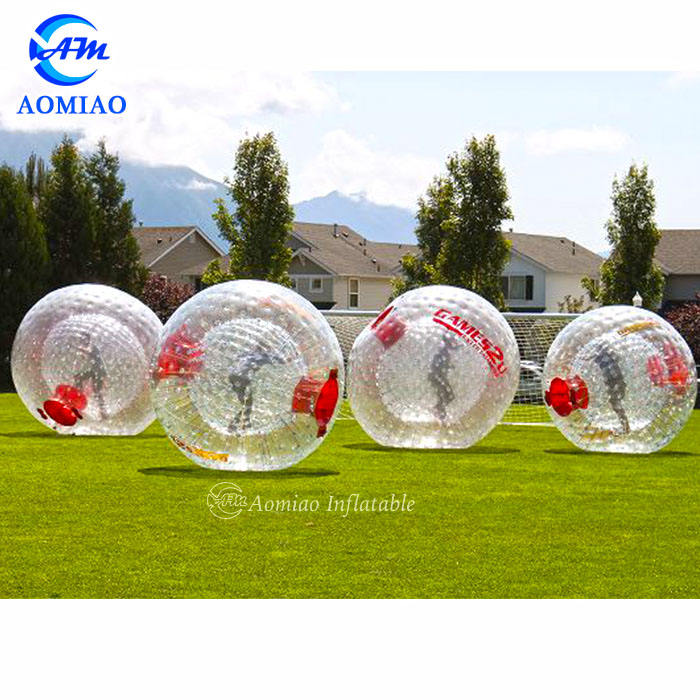 Hot sale commercial inflatable body zorbing ball inflatable human bowling ball for sale