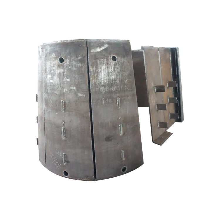 Heat-resistant Steel Made Scrap Metal Brass Copper Lead Aluminium Melting Furnace