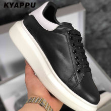 Top Quality designer Alexander Fashions Queens Sneakers Genuine Leather athletic casual Heightening shoes