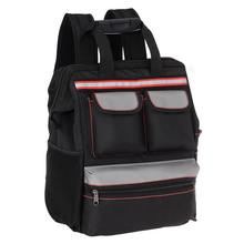 wholesale back pack polyester electrical tool kit storage bag tote electrician backpack tool bag heavy duty