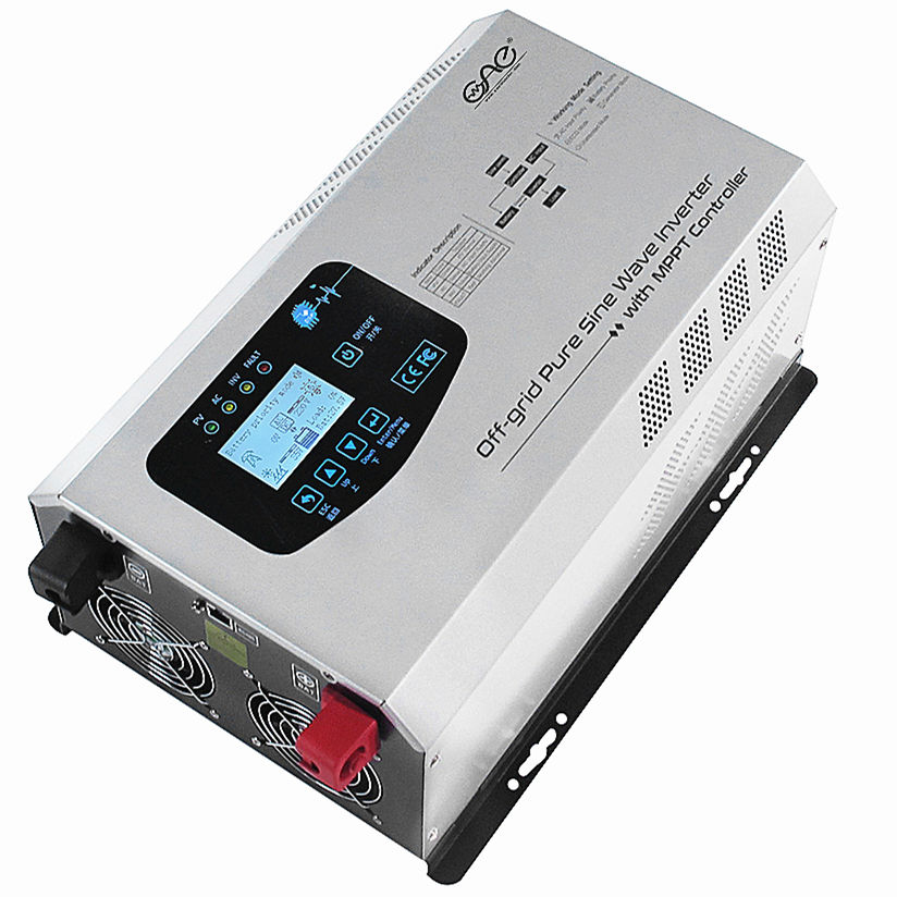 1kw 2kw 3kw 4kw 5kw 6kw 12v 24v 48v 110v 220v off grid hybrid solar inverter pure sine wave low frequency solar inverters