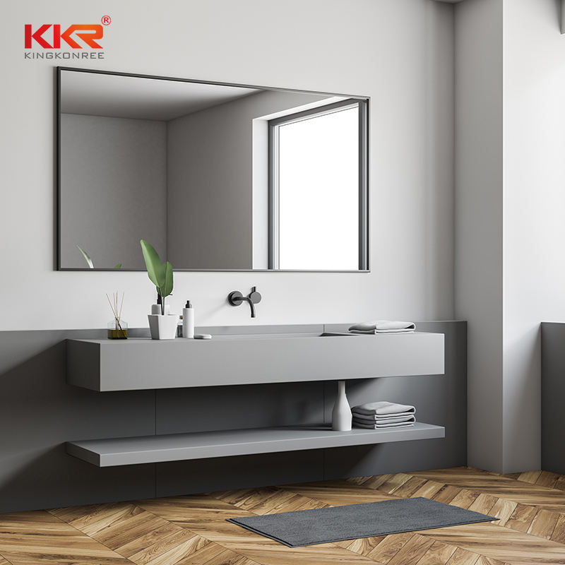 KKR Wash Basin Mirror Hotel Decoration Smart Led Bathroom Mirror