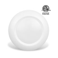 "ETL Energy Star 4"" Disc Light Surface Mount Ceiling Light for Junction Box, 120VAC, 10W, 600lm, Dimmable, Wet Location, Round"