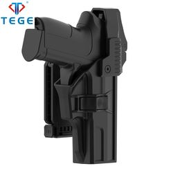 TEGE Hot sale Law enforcement universal gun holster Polymer holster Sig Sauer SP2022 Duty Holster with Two-in-one Belt clip