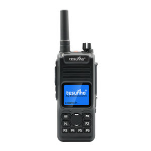 Tesunho 100Km Long Range RFID Walkie Talkie Radio Portabel dengan Bluetooth