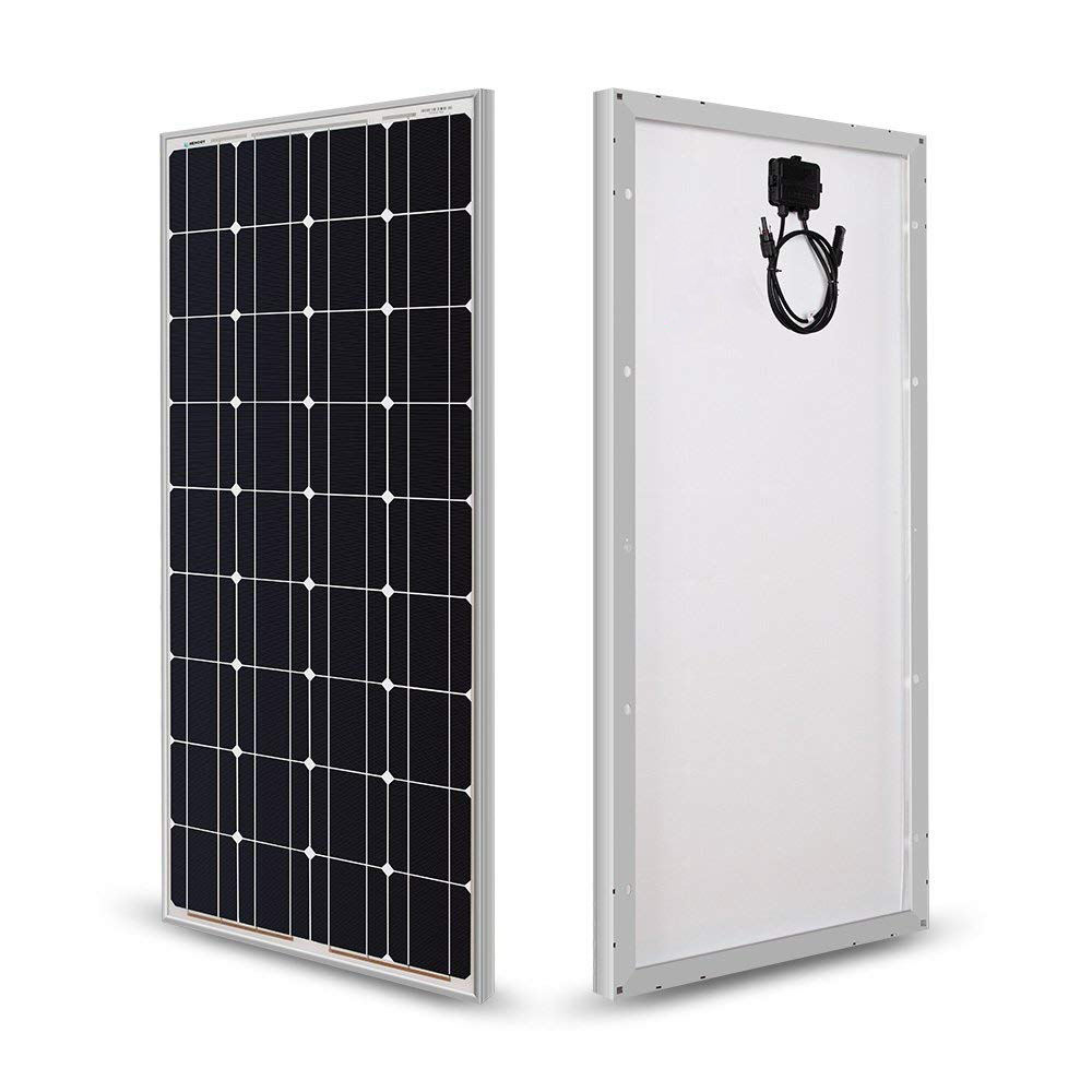 100 Watts 12 Volts Monocrystalline Solar Panel