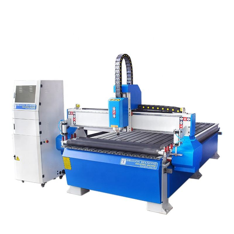 foam mdf woodworking acrylic cnc cutting engraving machine 1325 cnc router with press rolling