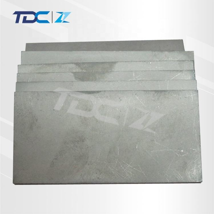 HIP sintering tungsten plate with ultra thin