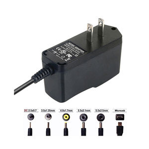 Factory Direct Sales Adapter plug AC DC 12V 1A switching power supply