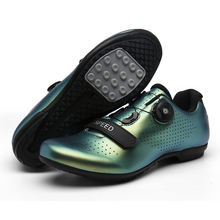 Factory custom multiple colors road cycling shoes without Lock bottom