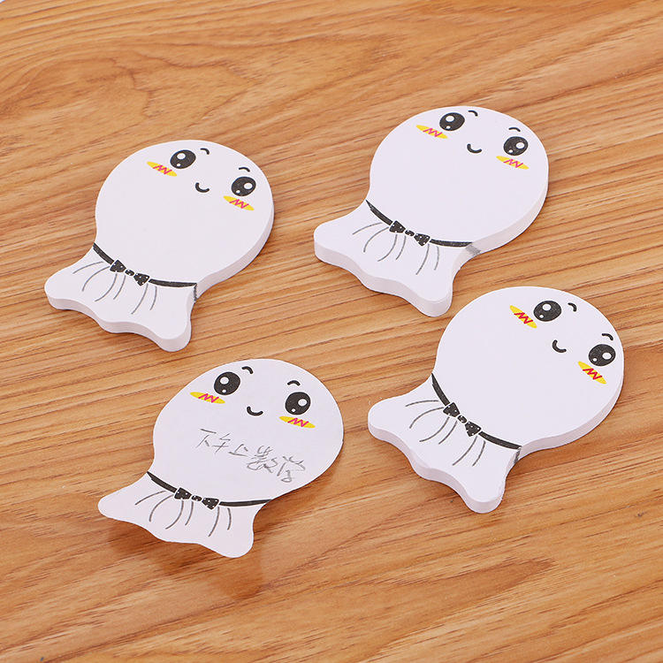 1pc Creative Sunny Doll n times post it notes cute smiling face note paper